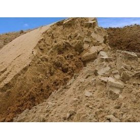 Песок овражный навалом от 30 тонн