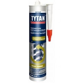 Герметик силиконовый нейтральный TYTAN Professional 310 мл белый