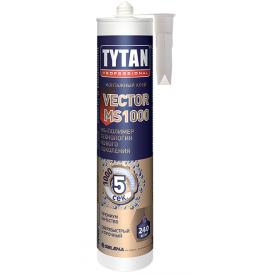 Клей-герметик TYTAN Professional Vector MS-1000 на основі МС-полімерів 290 мл кремовий