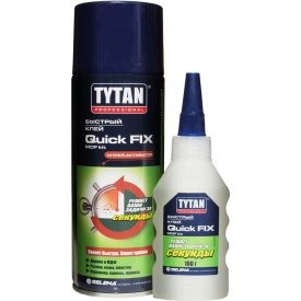 Двокомпонентний ціанакрилатний клей Tytan для MDF 400 мл+100 г