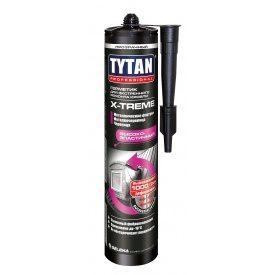 Герметик для екстреного ремонту покрівлі TYTAN Professional X-TREME 310 мл безбарвний