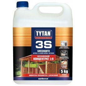 Біозахист дачних і господарських будівель TYTAN Professional 3S 5 кг