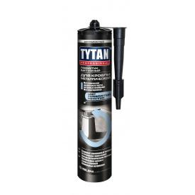 Герметик битумный для кровли металлической TYTAN Professional 310 мл серебристый