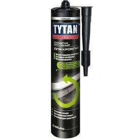 Герметик битумный для кровли TYTAN Professional 310 мл черный
