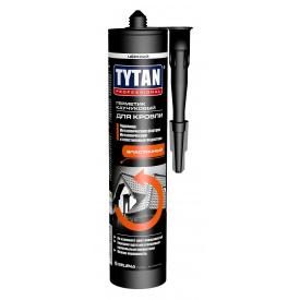Герметик каучуковый для кровли TYTAN Professional 310 мл черный
