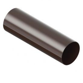 Труба водостічна INES 3 м 80 мм коричнева
