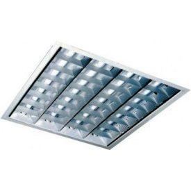Светильник встраиваемый 4x18 W 600x600