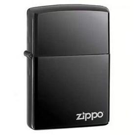Зажигалка ZIPPO 150 ZL BLACK ICE ZIPPO LOGO - LASER