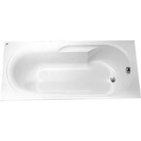 LAGUNA ванна прямоугольная 140x70 см 105 л с ножками