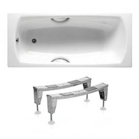 Комплект SWING ванна 180x80 см прямокутна з ручками + ніжки