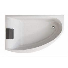 MIRRA ванна 170x110 см асимметричная левая с ножками SN 8 элементами крепления и подголовником