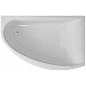 MIRRA ванна 170x110 см асимметричная правая с ножками SN 8 и элементами крепления