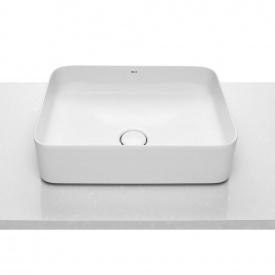 INSPIRA Square умывальник 50x37x14 см2адратный накладной без отв под смеситель без перелива
