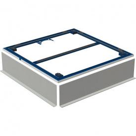 Geberit Монтажна рама для поверхні для душової зони Setaplano до 100 см для 4 х ніжок 100x100 см