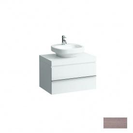 CASE стільниця 79x8x52 см без вирізу з 2 ма кронштейнами в комплекті світлий дуб