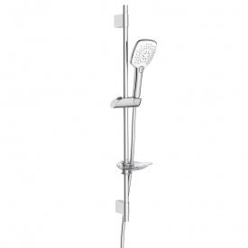 Штанга душевая L-80 см ручной душ 3 режима шланг мыльница