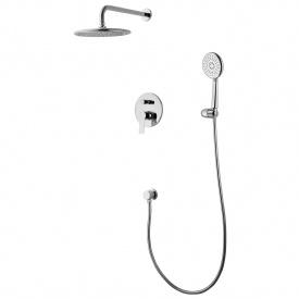 KUCERA комплект для ванны/душа смеситель с переключ верхний и ручной душ шланг шланг подсоед