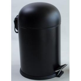 BON відро для сміття з педаллю 5 л чорний