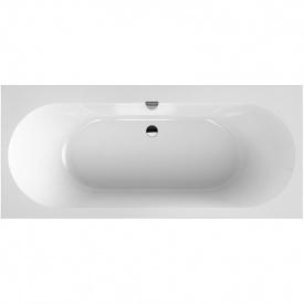 OBERON 2,0 ванна 170x75 см2 ариловая с ножками и сливом-переливом