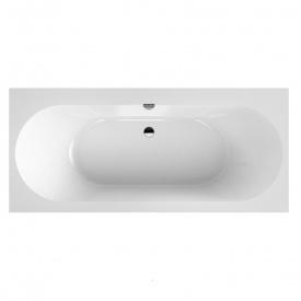 OBERON 2,0 ванна 180x80 см2ариловая с ножками и сливом-переливом