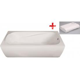 Комплект FIESTA ванна 170x70 см без ножек + Полотенце махровое Volle