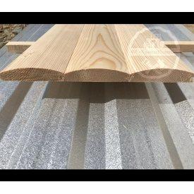 Блок-хаус из ели 22x90 мм