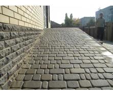 Тротуарна плитка Золотий Мандарин Старе місто 40 мм сіра Економ