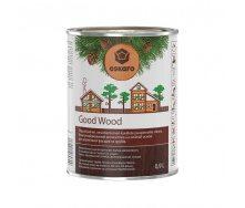 Водоразбавляемый антисептик Good Wood на масляной основе для деревянных фасадов и срубов 0,9 л