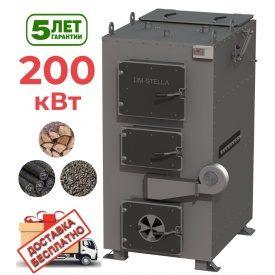 Пиролизный котел 200 кВт DM-STELLA