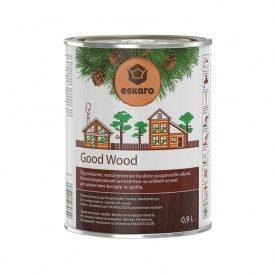 Водорозчинний антисептик Good Wood на масляній основі для дерев`яних фасадів і зрубів 0,9 л