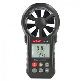 Анемометр крыльчатый 0,3-30 м/с -10-45°C WINTACT WT87A