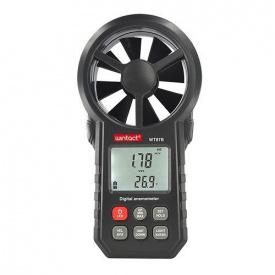 Анемометр крыльчатый USB Bluetooth 0,3-30 м/с -10-45°C WINTACT WT87B