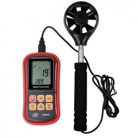 Анемометр 0,3-45м/с, 0-45°C BENETECH GM8909