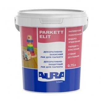 Декоративно-защитный лак для паркета Aura Luxpro Parkett Elit matt 0,75 л