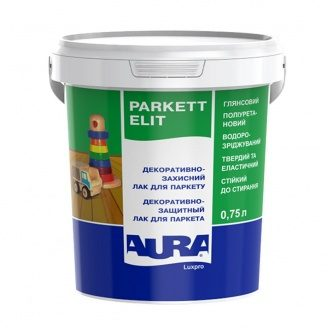 Декоративно-захисний лак для паркету Aura Luxpro Parkett Elit 0,75 л