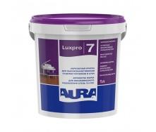Краска Aura Lux Pro 7 шелково-матовая 1 л