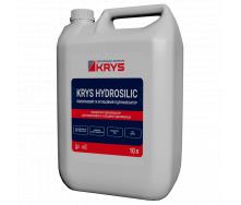 Матеріал-концентрат для поверхневої і ін`єкційної гідрофобізації KRYS HYDROSILIC 10 л