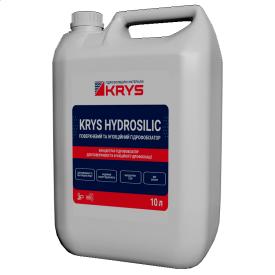 Материал-концентрат для поверхностной и инъекционной гидрофобизации KRYS HYDROSILIC 10 л