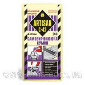 Артисан С-42 цементная самовыравнивающаяся смесь 4-20 мм 25 кг