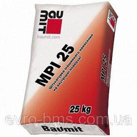 Штукатурка Baumit MPI 25 w машинного нанесения 25 кг