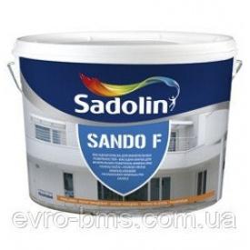 Краска Sadolin SANDO F для фасада и цоколя 5 л