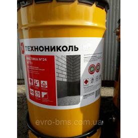 Мастика гідроізоляційна ТехноНІКОЛЬ №24 20 кг