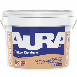 Фарба структурна Aura Dekor Struktur 2,5 л
