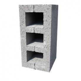 Шлакоблок будівельний 200x200x400 М-500