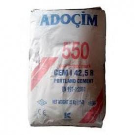 Цемент Турція ПЦ-1-550 25 кг