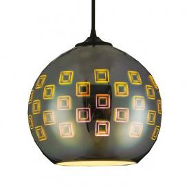 Світильник підвісний SPECTRUM Е27 3D-ефект круглий