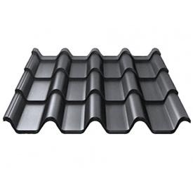 Металлочерепица RUUKKI ARMORIUM 50/PUMA Серый графит