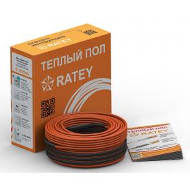 RATEY RD2 280 Вт 1,6-2,0 м2 двожильний нагрівальний кабель теплої підлоги