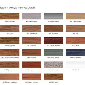Плінтус підлоговий Penates Classic спінений ПВХ 48x20 мм 2,5 м