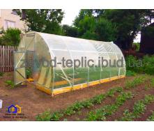 Теплица Урожайная с пленкой 3х6х2,3 м